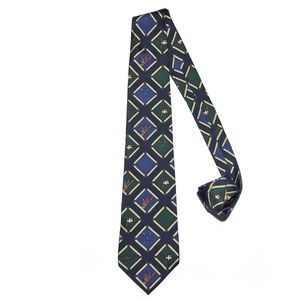Tommy Hilfiger Accessories - VTG Tommy Hilfiger All Silk Rowing Crew Print Tie